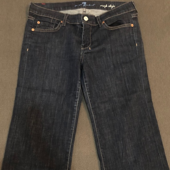 7 For All Mankind Denim - 7 For All Mankind Dojo Cropped Jeans